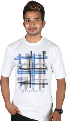 Tree Printed Men,s Polo Neck T-Shirt