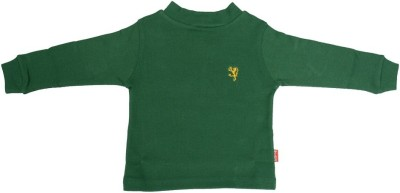 SPARK Solid Boy's Turtle Neck T-Shirt