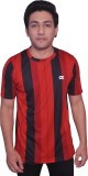 Dyed Colors Checkered Men's Round Neck R...