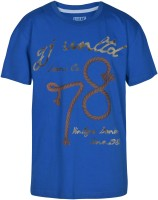 Gini & Jony Boys Solid(Blue) best price on Flipkart @ Rs. 419