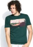 Vulpix Graphic Print Men's Round Neck T-...