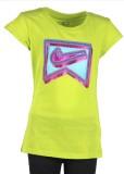 Nike Kids Girls Printed Cotton (Green)