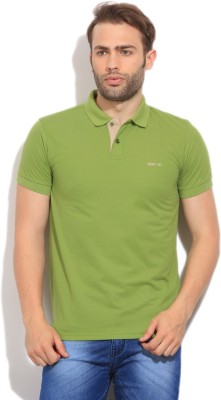 Newport Solid Men,s Polo Red T-Shirt