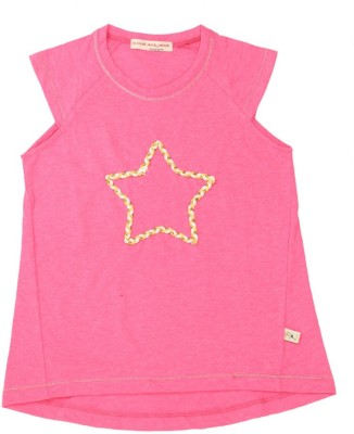 Raine And Jaine T- shirt For Girls(Pink)