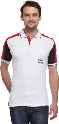 Flippd Graphic Print Men's Polo Neck T-Shirt