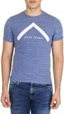 Easies Printed Men's Round Neck Blue T-S...