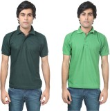 Stylish Trotters Solid Men's Polo Neck D...