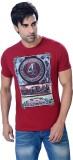 Astron Graphic Print Men's Round Neck T-...