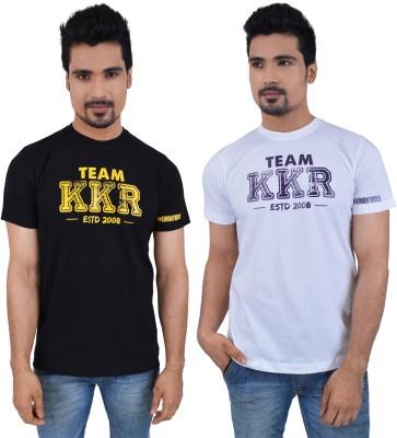 KOLKATA KNIGHT RIDERS Printed Men,s Round Neck Multicolor T-Shirt