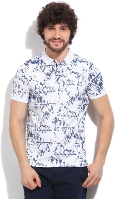 Easies Printed Men's White T-Shirt