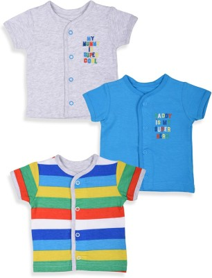 Mothercare Solid Fashion Neck T-Shirt
