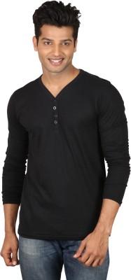 Poshuis Solid Men's Henley T-Shirt