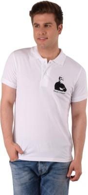 Vivekananda Youth Connect Printed Men's Round Neck White T-Shirt