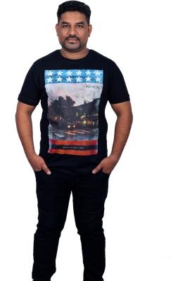 Xmex Graphic Print Men's Round Neck T-Shirt