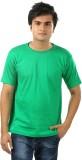 Sans Pareil Solid Men's Round Neck Green...