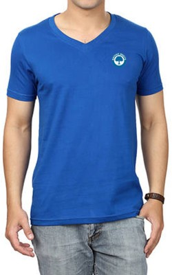 Banyan Roots Solid Men's V-neck T-Shirt
