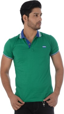 Lawman Solid Men's Polo Green T-Shirt