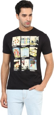 Okane Printed Men's Round Neck T-Shirt