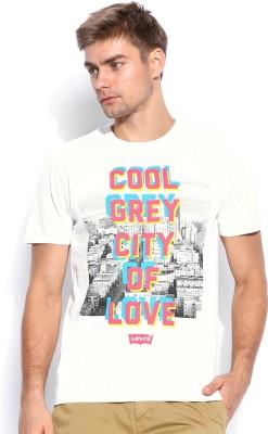 Levi's Printed Men's Round Neck T-Shirt