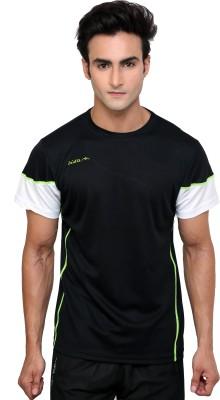 Dida Sportswear Solid Men's Round Neck Black T-Shirt