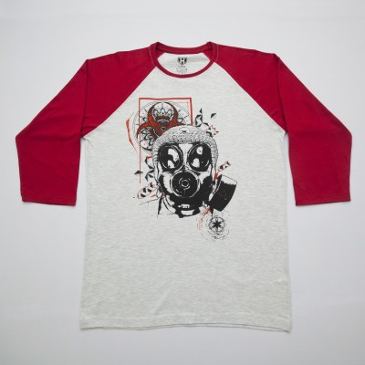 Haul Graphic Print Men,s, Women's Round Neck Red, Grey T-Shirt