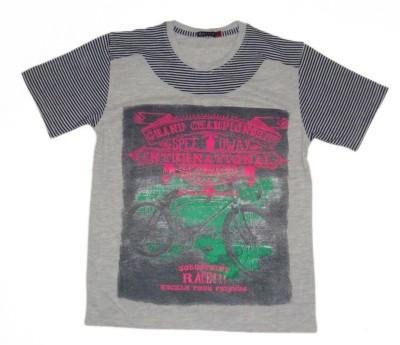 Miracle Printed Boy's Round Neck T-Shirt