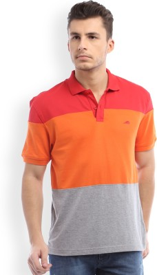 2go Solid Men's Polo Red T-Shirt