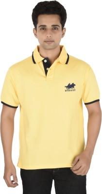 Buzkachi Solid Men's Polo T-Shirt