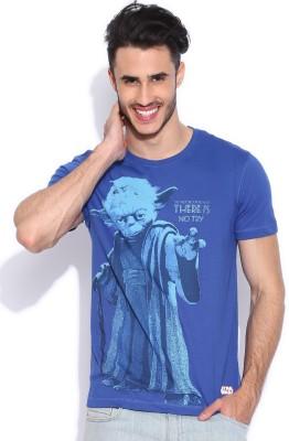 Kook N Keech Star Wars Printed Men's Round Neck T-Shirt
