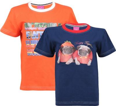 Flying Birds Animal Print Boy,s Round Neck T-Shirt