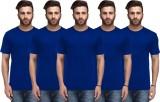 Nitlon Solid Men's Round Neck Multicolor...