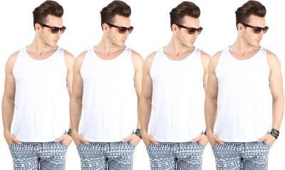 SayItLoud Mens Vest(Pack of 4)