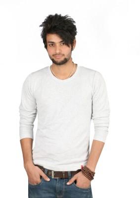 Emerge Solid Men's Round Neck T-Shirt