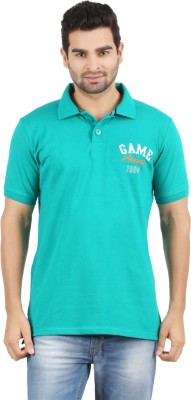 Danteez Embroidered Men's Polo Dark Green T-Shirt