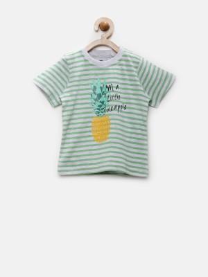 YK Striped Baby Boy's Round Neck T-Shirt
