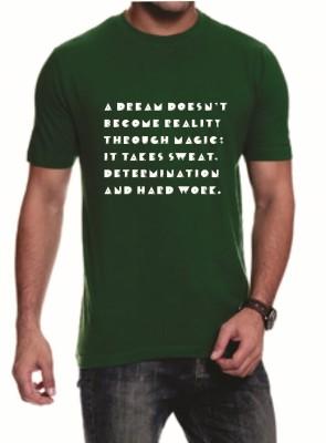 Teeswood Graphic Print Men's Round Neck T-Shirt