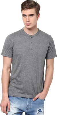 Aventura Outfitters Solid Men,s Henley T-Shirt