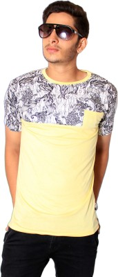 Fabrico Via Graphic Print Men's Round Neck T-Shirt