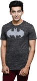Batman Printed Men's Round Neck Grey T-S...