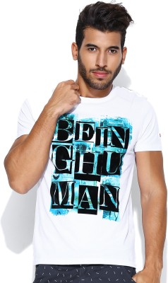 Being Human Clothing Printed Men's Round Neck T-Shirt