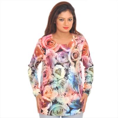 URBANTRY Printed Women's Round Neck T-Shirt