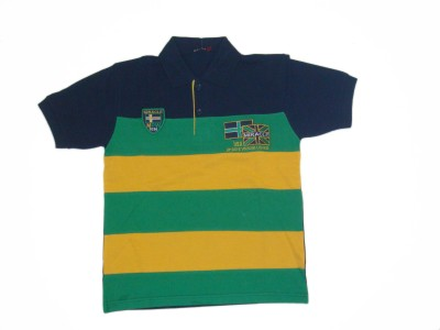 Miracle Self Design Boy's Polo Neck T-Shirt