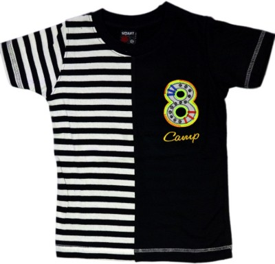 Just In Plus Printed Boy's Round Neck T-Shirt