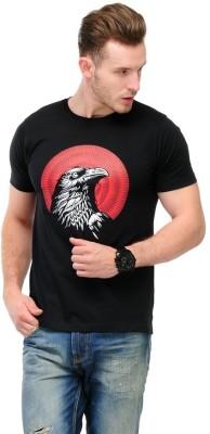Slingshot Printed Men's Round Neck T-Shirt