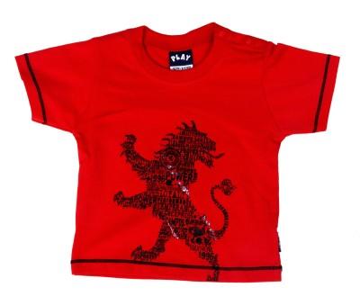 Noisyrock Solid Baby Boy's Mock Neck T-Shirt
