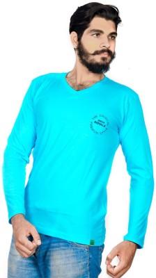 Indian Royal Solid Men's V-neck T-Shirt