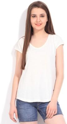 Arrow Solid Women's Round Neck T-Shirt