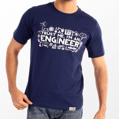 Slimthread Printed Men's Round Neck T-Shirt