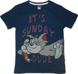 Tom & Jerry Boys Printed (Blue, Pack of ...