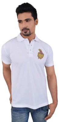 KOLKATA KNIGHT RIDERS Solid Men,s Polo Neck T-Shirt